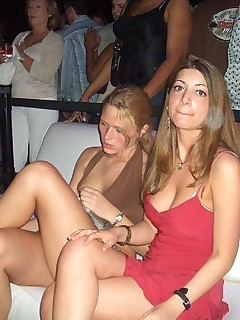 Imorral girls taking piss in friends backyard after the party