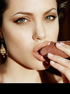 Angelina Jolie is turning on a lot of men and a lot of men is just what she needs