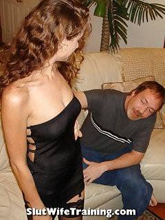 Slut WIfe Gianna Learns to Take it In Her Tight Ass